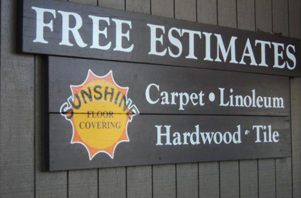 Sunshine Floor Covering Free Estimates